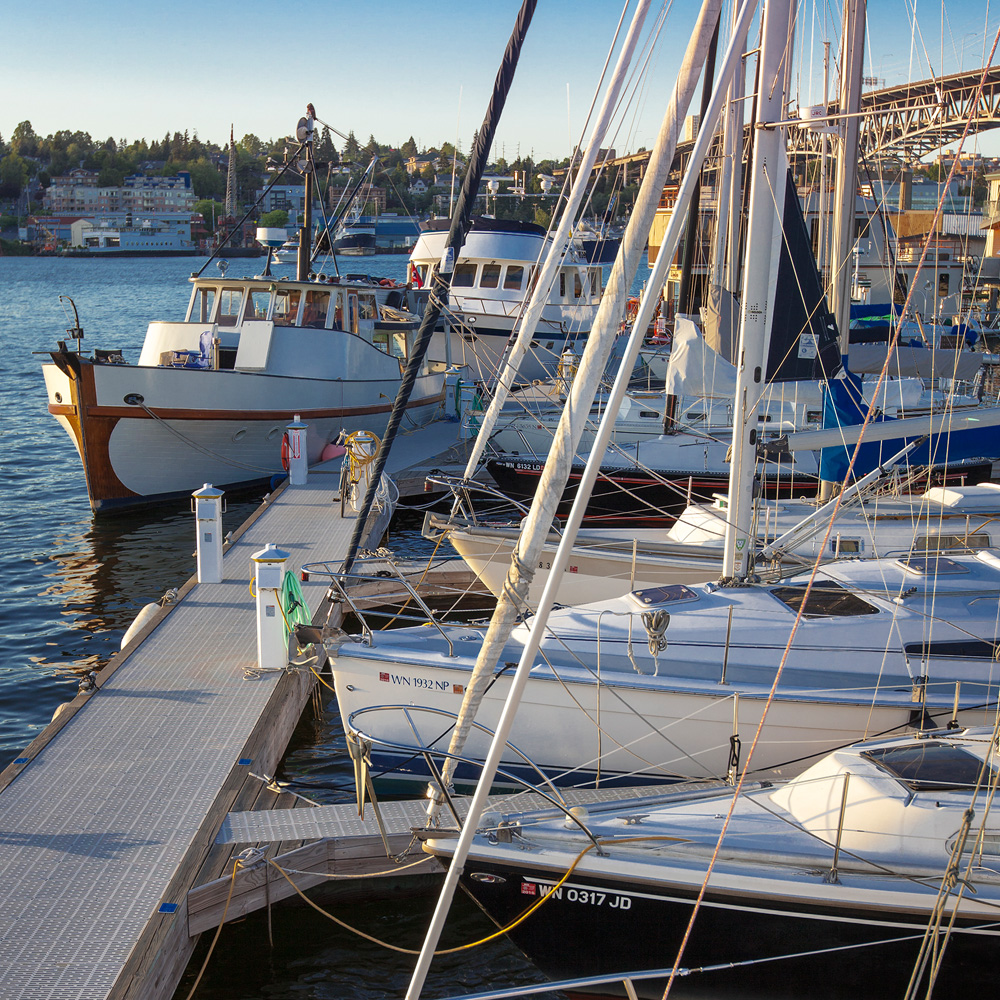 Moorage Sailboats